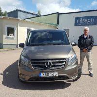 MB Vito 119 CDI till Fribergs Begravningsbyrå