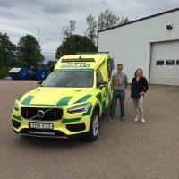 Nilsson XC90 Ambulans till Övertorneå