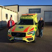 Sörmland hämtar ny ambulans