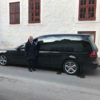 Nilsson V90 Begravningsbil till Kalmar