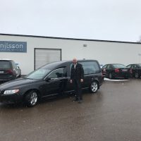 Nilsson V70 Hearse to Väddö Begravningsbyrå