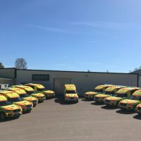 Delivery of Nilsson XC90 Ambulances
