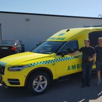 Delivery of Nilsson XC90 Ambulance to Norway