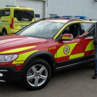 Firebrigade Arjeplog picks up new commandercar
