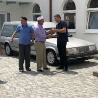 Holidays are over and a hearse is donated to Kosovo