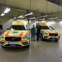 Two Nilsson XC90 Ambulances to VGR
