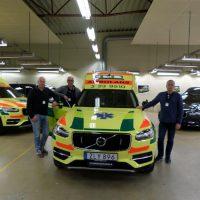 Nilsson XC90 Ambulance to Örebro