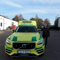 Nilsson XC90 Ambulance to Norrbotten läns landsting