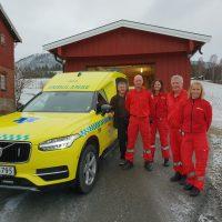 Nilsson XC90 Ambulance to Vestre Viken dep. Sigdal, Norway