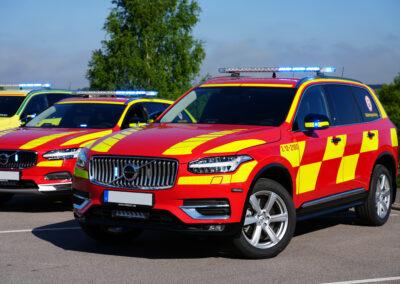 XC90 Ledningsfordon röd